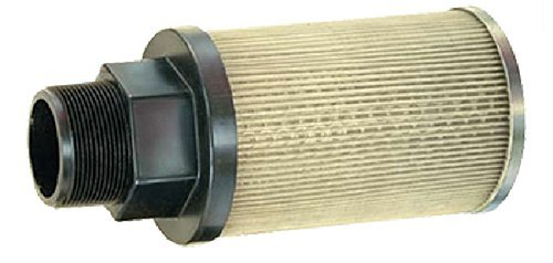 "Flow Ezy Filters, Inc. P20 1 100 Suction Strainer with Nylon Connector End, 20 GPM , 1"" Female NPT, 100 Mesh Size"