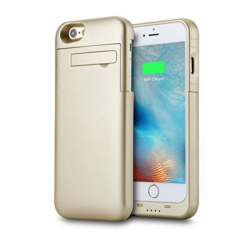 iPhone 6/6S Battery Case,Peyou® 3200mAh Portable Charging Case Extended Backup Charger Power Bank Cover with Kickstand For Apple iPhone 6/6s 4.7