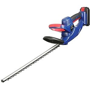 Qualtex GDN110 24V Cordless Hedge Trimmer Cutter Lightweight Quick Charging 51cm Blade