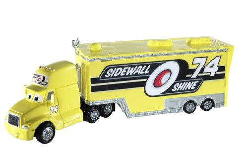 Disney Cars Sidewall Shine Hauler Diecast Car | eBay