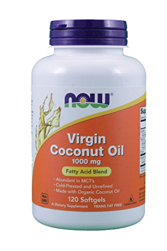 Foods Virgin Coconut 1000mg Softgels