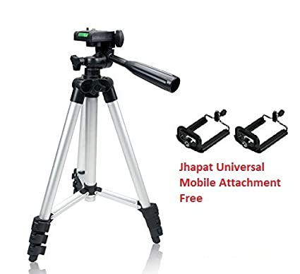 7e1a31b4b Buy Jhapat Tripod-3110 40.2 Inch Portable Camera Tripod with 3D Head ...