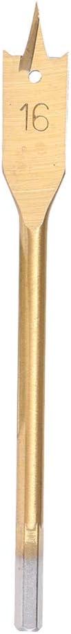 Holzbohrer Hand Elektrospaten Holzbohrer Bohrlochbohrer Unstopup 6-35 mm lange Flachbohrer Titanbeschichtetes Holzbearbeitungswerkzeug