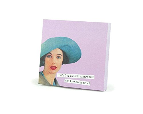 Fun Sticky Notes by Anne Taintor - Go Home
