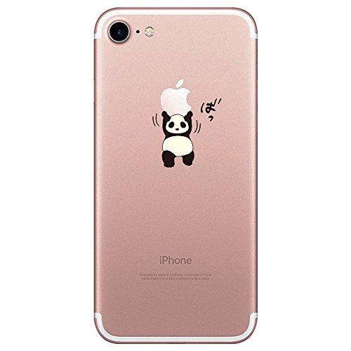 coque iphone 8 silicone panda
