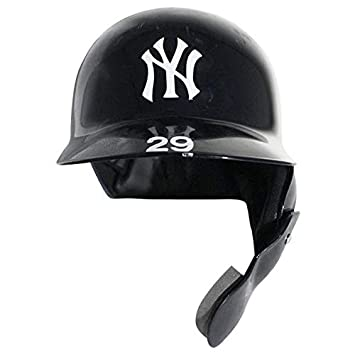 cc6a243a1c ADEINY HECHAVARRIA GAME USED NY YANKEES POSTSEASON BATTING HELMET ...