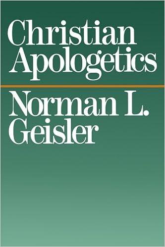 Christian Apologetics: Norman L. Geisler: 9780801038228: Amazon ...