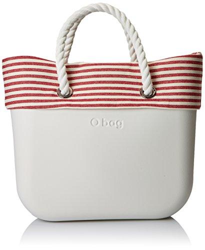 O bag B002371 Borsa a Mano Donna Multicolore Latte 11x31x40 cm W x H ... e6644decbe1