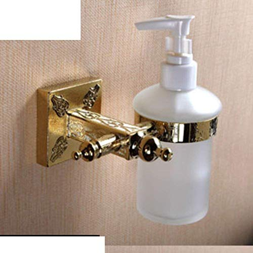 Yingealy Sophisticated soap Dispenser Decoration Bathroom Accessories Soap Bottle/Continental Pendant Wall-Mounted soap Dispenser (Color : -, Size : -) (Color : -, Size : -)