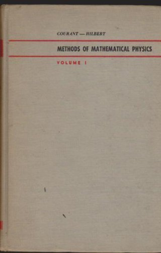 Vol 1 ONLY: Methods of Mathematical Physics Volume 1 - First english Edition translated and revised from the German Original