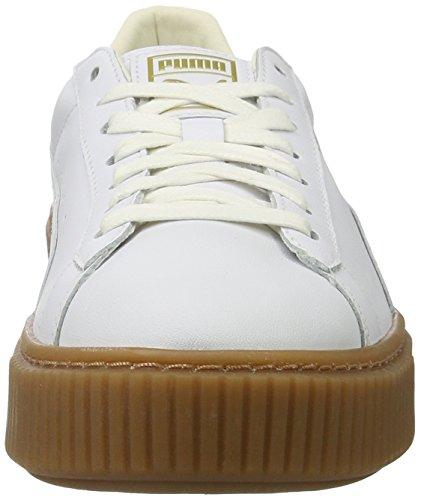 Basket Core para White Mujer White Platform puma Blanco Puma Zapatillas Puma Eqxpdq