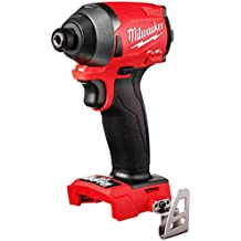 "Milwaukee 2853-20 M18 FUEL 1/4"" Hex impact Driver (Bare Tool)-Torque 1800 in lbs (Renewed)"