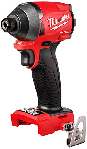 Milwaukee 2853-20 M18 FUEL 1/4″ Hex impact Driver (Bare Tool)-Torque 1800 in lbs (Renewed)