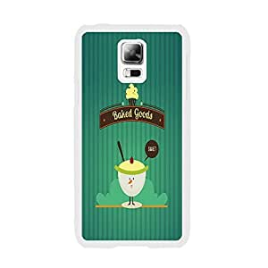 Protective Green Samsung Phone Case Cover for Samsung Galaxy S5 I9600 Unique Design Hard Plastic Cell Phone Case Skin (ice cream BY663)