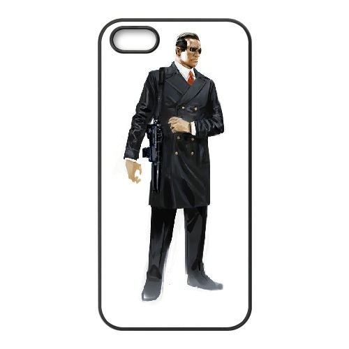 U3Y87 persona q ombre du labyrinthe L9R5EJ coque iPhone 4 4s cellulaire cas de téléphone couvercle coque de IH0FNR3PB noir