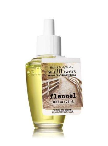 Bath & Body Works Wallflowers Fragrance Refill Bulb Flannel Fall 2017