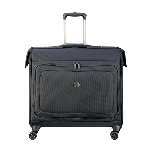 Delsey Luggage Cruise Lite Softside Spinner Trolley Garment Bag, Black by DELSEY Paris
