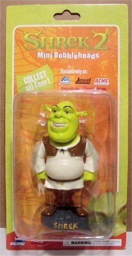 Amazon.com: Shrek 2 SHREK the OGRE Mini Bobblehead 4