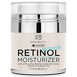 Best Night and Day Moisturizing Cream- Radha Beauty Retinol  Miracle Cream
