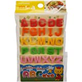 Torune 26 Piece Japanese Bento Accessory Food Pick Letter Set