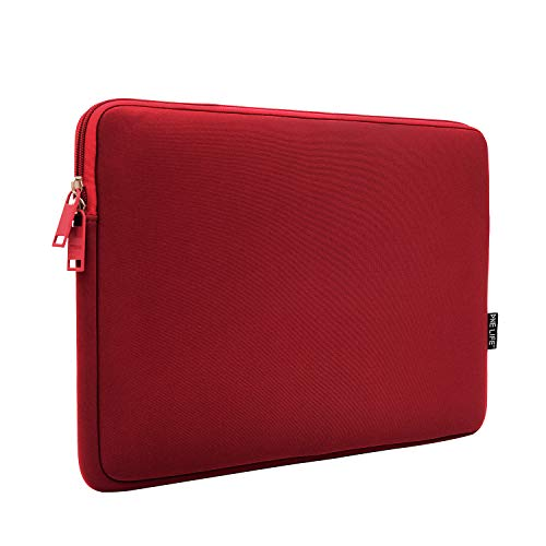 ONE LIFE 15 Inch Waterproof Laptop Sleeve Case Compatible with 15 Inch MacBook Pro HP Dell Sony ASUS Acer Lenovo(15 Inch, Red)