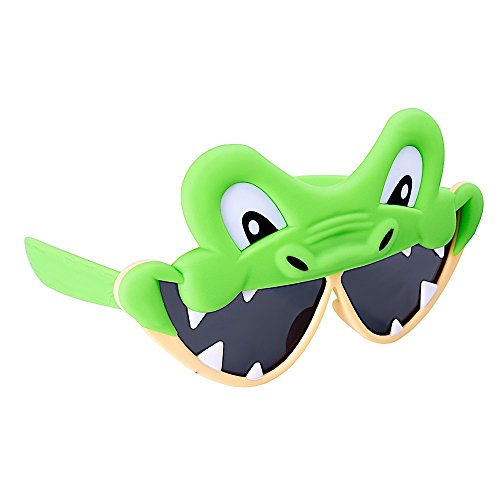 Sunstaches Alligator Animal Character - Sunglasses Alligator