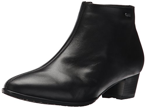 ara Women's Prisha Ankle Boot, Black Hydro/Nappa, 8 M US ()