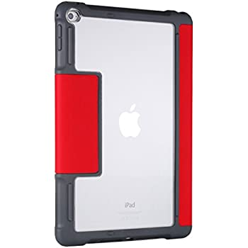 Amazon Com Stm Dux Rugged Case For Ipad Air 2 Red Stm
