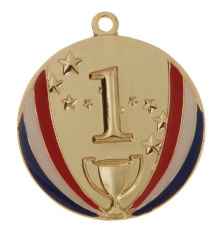 1st-place-gold-stars-and-stripes-die-cast-medal-with-red-white-blue-v-neck-ribbon