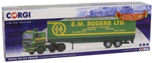 1/50 ボルボ F10 チルトトレーラー E.M.ROGERS LTD CC15504