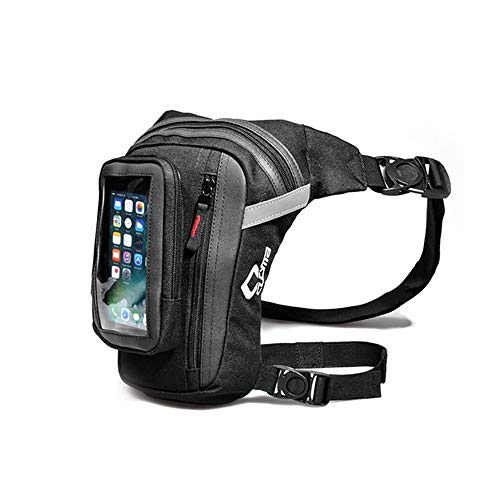 Tank Bag Pack Leg Waist Thigh Pouch Outdoor Motorcycle Running Casual Waterproof