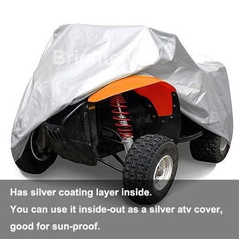 Amazon.com: rockymranger ATV con cubierta universal Quad ...