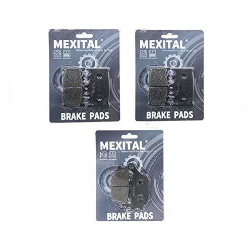 MEXITAL motorfiets remblokken voor MXB158-158-174 voor + achter.