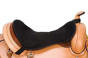Weaver Leather Western Gel Seat Pad, Black