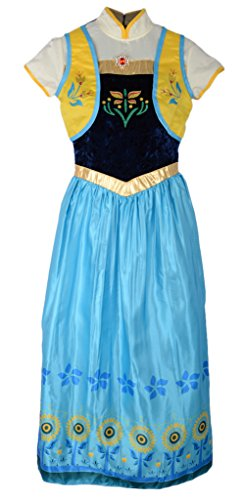 Eyekepper Birthday Party Anna Princess Dress Costume Adult