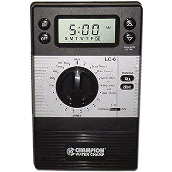 Amazon.com : Champion R-4 4 Zone Sprinkler Controller