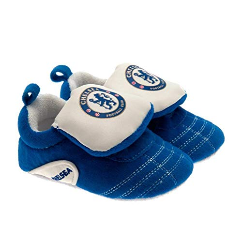 Chelsea FC Baby Crib Boots (3/6 Months) (Blue/White)