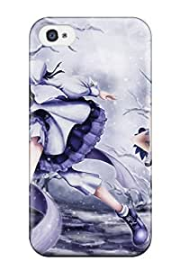 Awesome Case Cover/iphone 4/4s Defender Case Cover(video Games Touhou Cirno Letty Whiterock)
