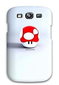 Jesus Hutson castillo's Shop Best 3696706K68490497 Premium The Mushroom Heavy-duty Protection Case For Galaxy S3