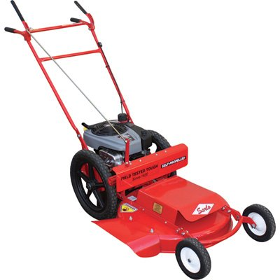 Sarlo Self-Propelled High Wheel Mower - 190cc Briggs & Stratton Professional Series Engine, 24in. Deck, Model# WX24SP Commercial Walk Behind Mower
