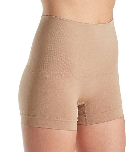Lunaire Seamless High Waist Boy Leg Panty (3412) L/Nude