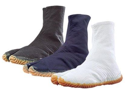祭り足袋【祭りジョグ】白 黒 藍 6枚こはぜ(株)丸五