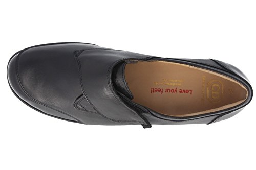 CHRISTIAN dIETZ-femme-noir-chaussures en matelas grande taille
