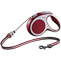 Flexi roll Leash New Comfort Belt for Dogs , Medium, 5 m, Red