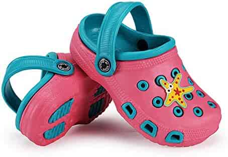 bd2a1ab2d172 Eternity J. Kid s Cute Clog Cartoon Slide Sandals Garden Slip On Water  Shoes Children Slide