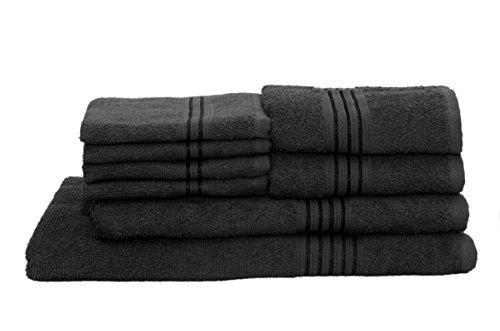 HomeStrap Classic Bath Towel Set- Pack of 8