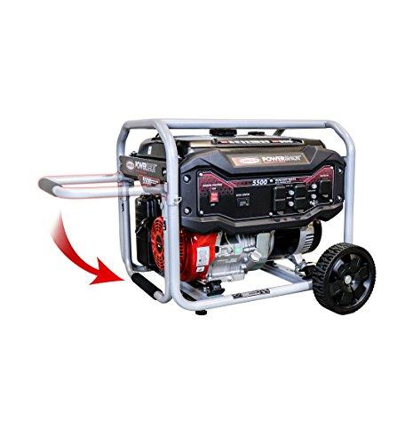 Simpson Cleaning SPG5568 5,500-Watt Portable Gas Generator, 5500 Running Watts 6875 Starting watts