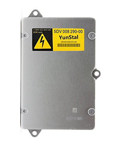 5DV 008 290-00 Xenon HID Headlight Ballast Control Unit Module with Fast Startup Safe Stability for Audi BMW Saab Chrysler Ford Jaguar Land Rover Mercedes Maserati by YunStal