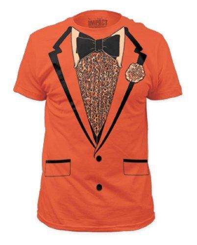 Orange Retro Prom Mens Tee L