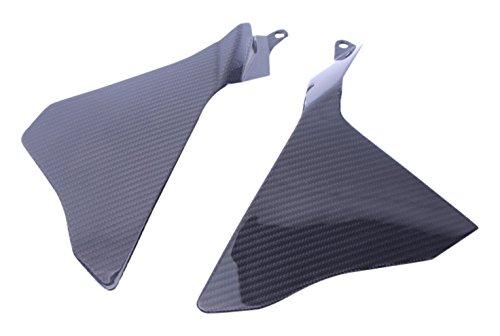 L+R Bestem CBYA-R115-SPNU-MT Full Carbon Fiber Upper Side Panels in Twill Weave for Yamaha R1 2015 2016